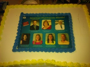 American Pharmacists Month Cake